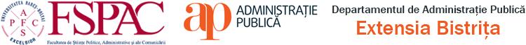 Departamentul de Administrație și Management Public – Extensia Bistrița